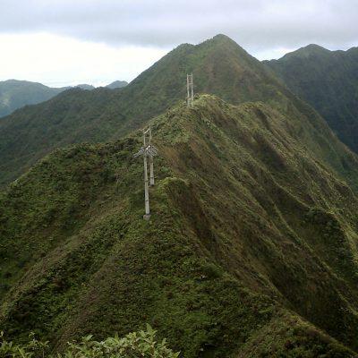 Ridgeline hike looking west
