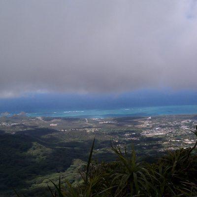East view of Bellows, Mokulua Islands