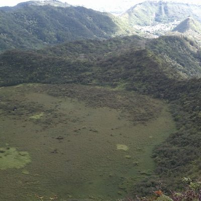 Westside crater view